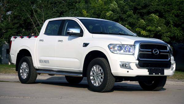 Китайцы обновили клон Toyota Tundra