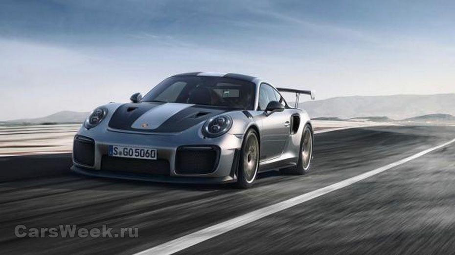 Porsche 911 GT2 RS установил на Нюрбургринге новый рекорд скорости в 335