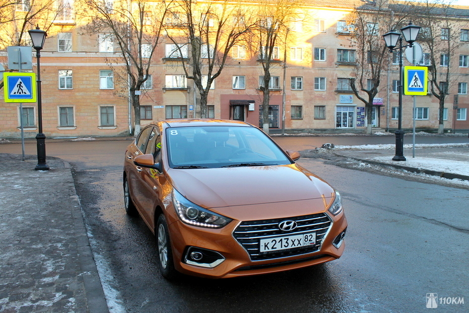 В РФ продан 20-тысячный Хюндай Solaris обновленного поколения