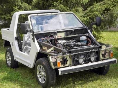 Набазе lada 4x4 разработан военный внедорожник