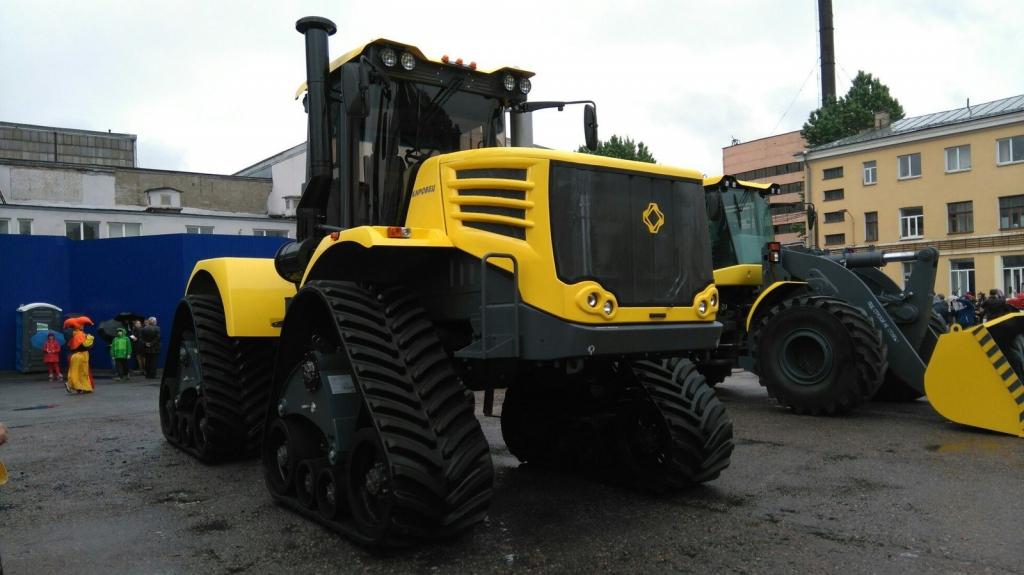 ВСамарской области могут появиться тракторы «Кировец» скоробкой-автомат
