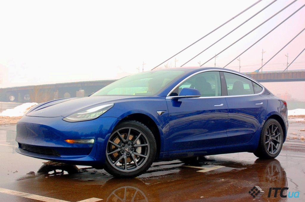 Tesla обновила автопилот Model 3