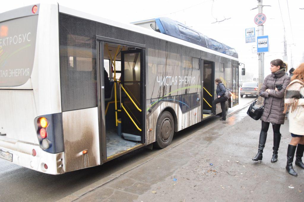 ВВолгограде прошли тестирования электроавтобуса «Волгобас»