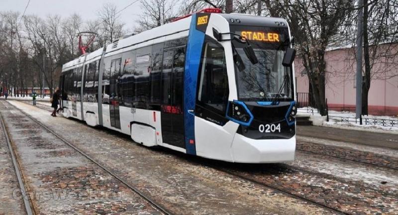 В северной столице вскором времени появятся новые трамваи Stadler