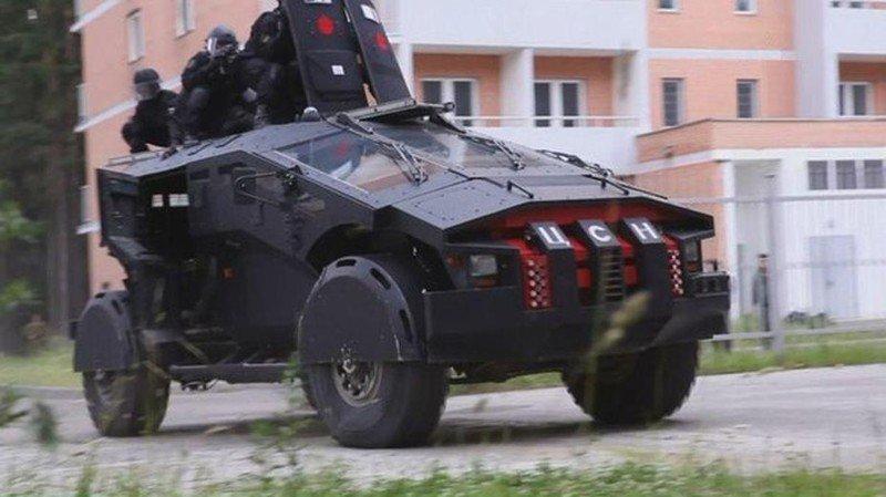 Стали известны характеристики секретного русского броневика «Фалькатус»