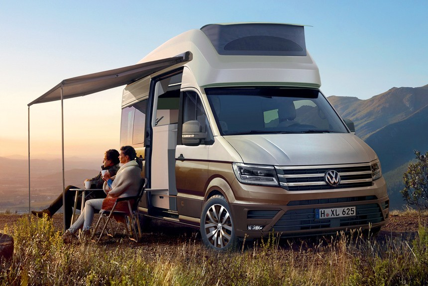 VW анонсировал «дом наколесах» набазе модели Crafter