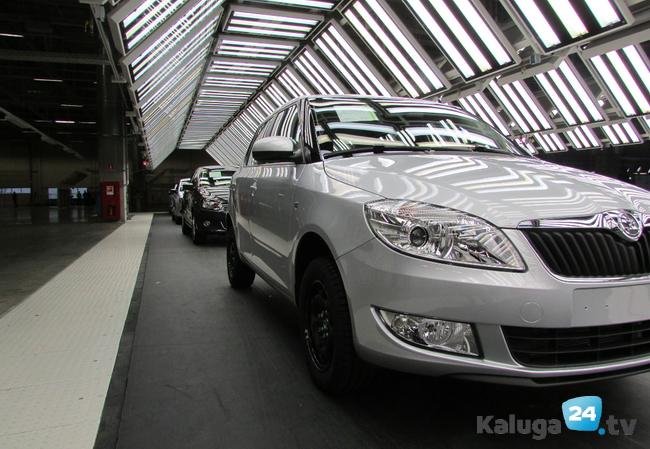 Калужский завод Фольксваген с3июля уходит вкорпоративный отпуск