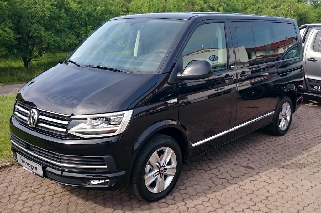Калужский завод VW закончил сборку Caravelle иMultivan