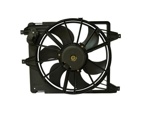 Електровентилятор охолодження в зборі (двигун + крильчатка)
