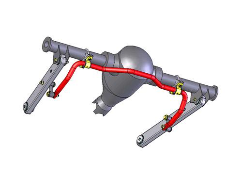 Стабілізатор задній