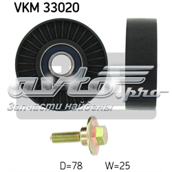 ролик приводного ремня паразитный  VKM33020