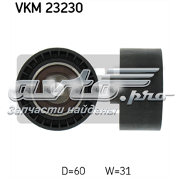ролик ременя грм, паразитний  VKM23230