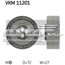 ролик натягувача ременя грм  VKM11201