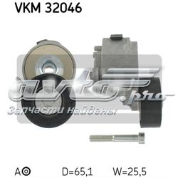 ролик натягувача приводного ременя  vkm32046
