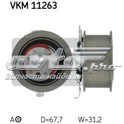 ролик натягувача ременя грм  vkm11263