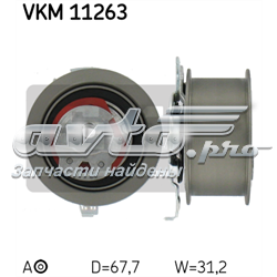ролик натяжителя ремня грм  vkm11263