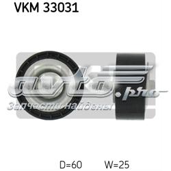 ролик натягувача приводного ременя  VKM33031