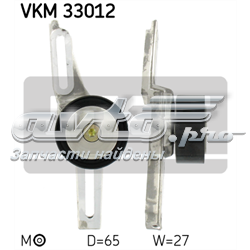 ролик натягувача приводного ременя  VKM33012