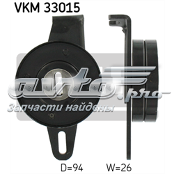 ролик натягувача приводного ременя  vkm33015