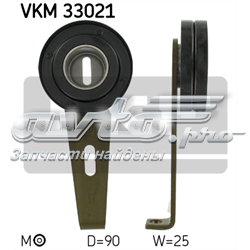 ролик натяжителя приводного ремня  VKM33021