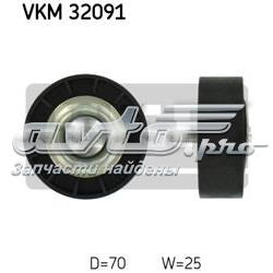 ролик натягувача приводного ременя  VKM32091