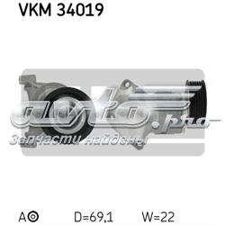 натяжитель ремня грм  VKM34019