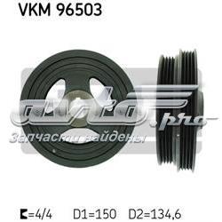 шкив коленвала  VKM96503