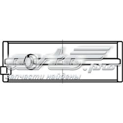 Фото: Вкладиші колінвала, корінні, комплект, стандарт (STD) Chevrolet Evanda