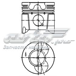 поршень в комплекте на 1 цилиндр, 3-й ремонт (+0,60)  99879620