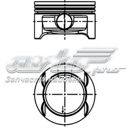 поршень (комплект на мотор), 1-й ремонт (+0,25)  40386610