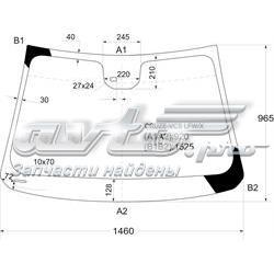 Фото: Скло лобове Chevrolet Cruze