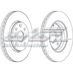 диск тормозной передний  WGR15271