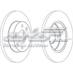 диск тормозной передний  WGR00551