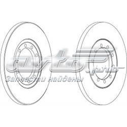 диск тормозной задний  WGR15371