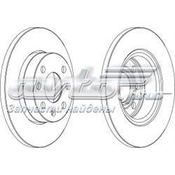 диск тормозной передний  WGR01161
