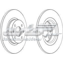 диск тормозной передний  WGR01411