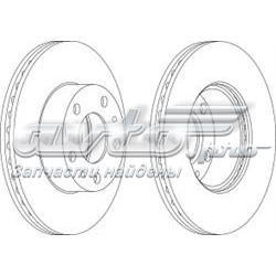 диск тормозной передний  WGR07671