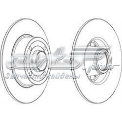 диск тормозной задний  WGR13691