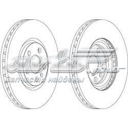 диск тормозной передний  WGR11651
