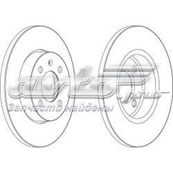 диск тормозной передний  WGR02051