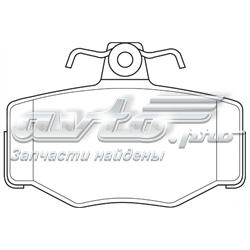 колодки тормозные задние дисковые  WBP21545A