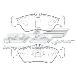 колодки тормозные задние дисковые  WBP21592A