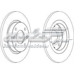 диск тормозной передний  WGR00591