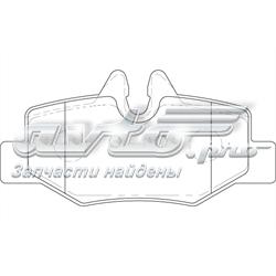 колодки тормозные задние дисковые  WBP24008A