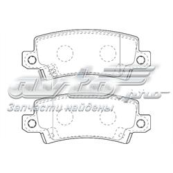 колодки тормозные задние дисковые  WBP23816A
