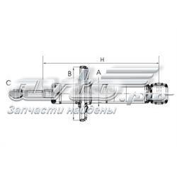 амортизатор задній  Z1029