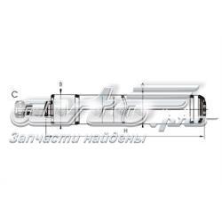 амортизатор передній  Z8594