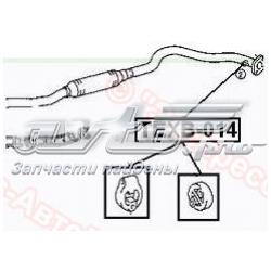подушка крепления глушителя  TEXB014