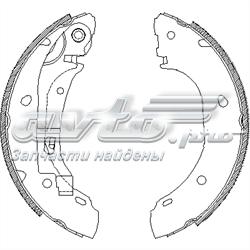 колодки тормозные задние барабанные  Z416300