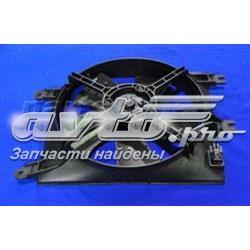 Фото: Диффузор радиатора кондиционера, в сборе с крыльчаткой и мотором Chevrolet Tacuma